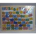 Дер. Доска магнитная с цифрами 141-781F купить оптом и в розницу