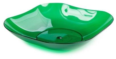 Фруктовница Ice (зеленый полупрозрачный) 45 купить оптом и в розницу