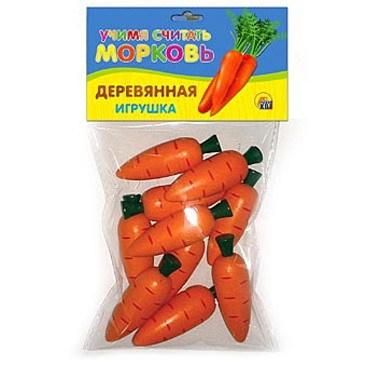 Дер. Счетный материал Морковь ИД-5923 купить оптом и в розницу