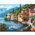 Набор ДТ Картина стразами Альпийская деревня АЖ-1039 купить оптом и в розницу