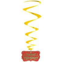 Гирлянда-спираль с подвеской ″Процветания!″ D20см высота 80 см купить оптом и в розницу