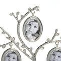 Фоторамка из металла ″Семейное Древо″ 5 фото серебро 25*14см 9677 купить оптом и в розницу