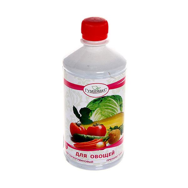 Удобрение торфогуминовое для овощей 0,5 л ″Гумимакс″ купить оптом и в розницу
