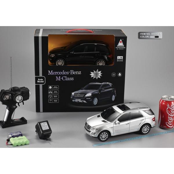 Машина р/у 1:18 300302-1-QX Mercedes-Benz M-Class с аккум. в кор. купить оптом и в розницу