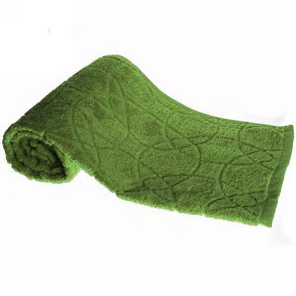 Махровое полотенце 50*100см оливковое жаккард ЖК100-2-008-035 купить оптом и в розницу