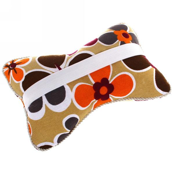 Подушка-подголовник, хлопок, принтованная комплект 2шт., размер 26*18см купить оптом и в розницу