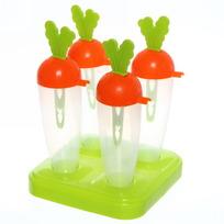 Форма для приготовления мороженого ″Морковка″ 4шт 621 купить оптом и в розницу