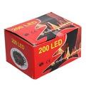 Гирлянда светодиодная уличная 15 м, 200 ламп LED, Фиолетовый, 8 реж, зелен.пров. купить оптом и в розницу