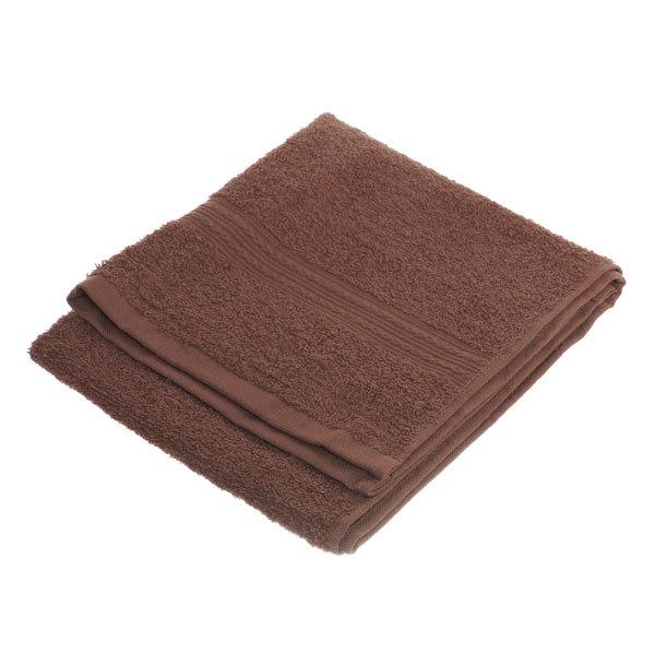 Махровое полотенце 40*70см шоколадное ЭК70 Д01 купить оптом и в розницу