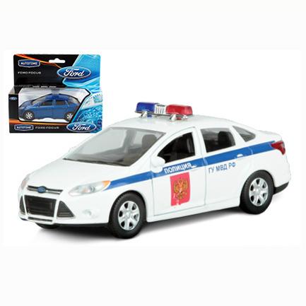 Модель Ford Focus полиция 1:36 49081 купить оптом и в розницу