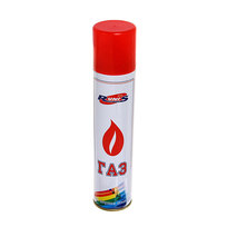 Газ для зажигалок ″RUNIS″ белый металлический баллон (с насадками) 270мл (1-008) купить оптом и в розницу