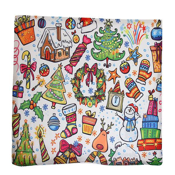 Наволочка декоративная 40*40см ″Новогодние радости″ купить оптом и в розницу
