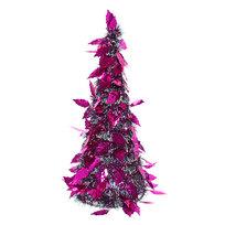 Елка фольгированная 47см фиолетовый\розовый купить оптом и в розницу