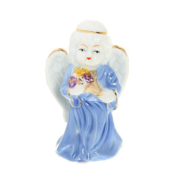 Фигурка из керамики ″Ангелочки″ 10 см (набор 2 шт) купить оптом и в розницу