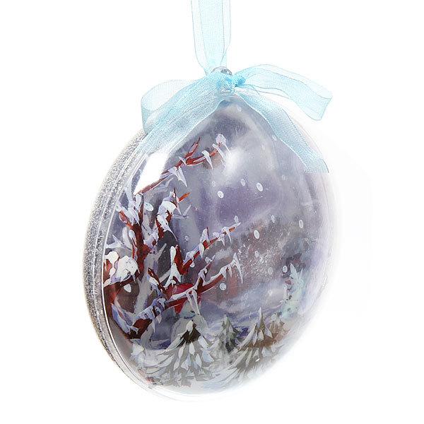 Новогодний шар ″Снеговик″ 10см купить оптом и в розницу