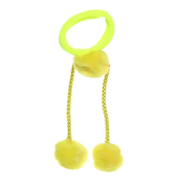 Резинка для волос ″Баффи - два шарика″, цвет микс купить оптом и в розницу