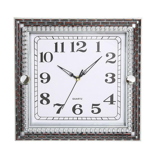 Часы настенные 31*31см 9008W купить оптом и в розницу