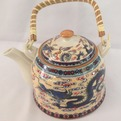 Чайник заварочный керамический 750 мл с ситом ″Дракон″ 660 купить оптом и в розницу
