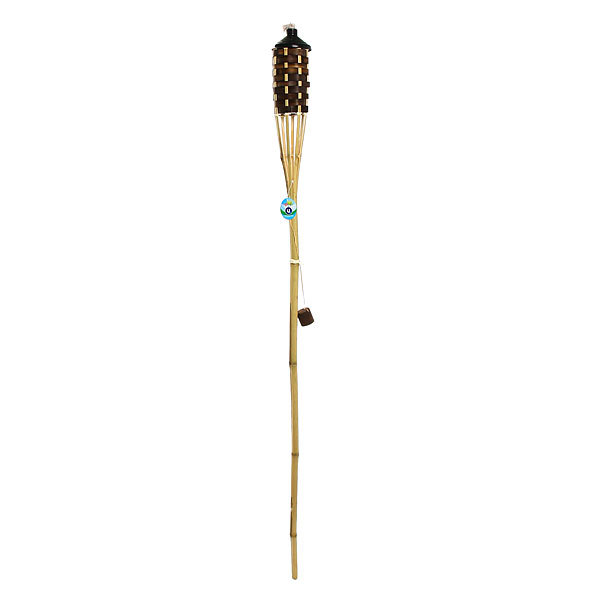 Фонарь садовый ″Факел11 Микс″ (заправляется керосином), бамбук, 150см купить оптом и в розницу