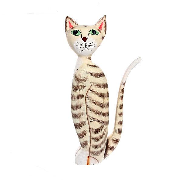 Фигурка из дерева ″Кошка″, 35 см купить оптом и в розницу