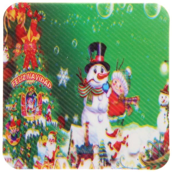 Салфетка на стол 42*27,5см ″Снеговичок″ в наборе 6+6шт купить оптом и в розницу