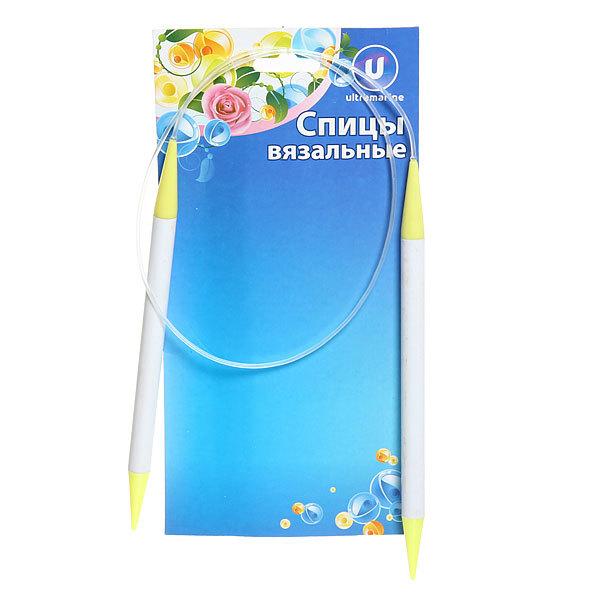 Спицы вязальные круговые пластиковые 9мм 80см купить оптом и в розницу