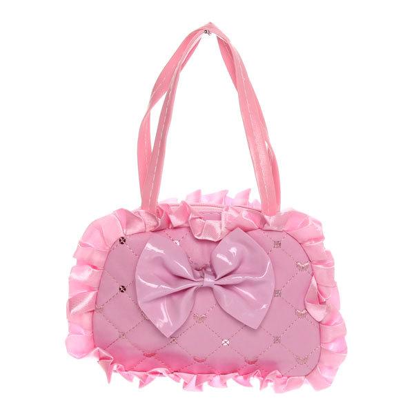 Сумка детская ″Модница - блестки″, цвет розовый 17*12 купить оптом и в розницу