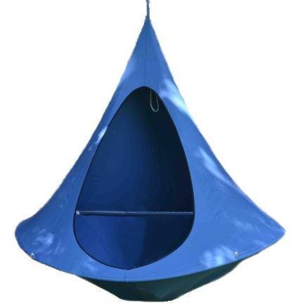 Гамак-кокон Jamber двухместный  синий купить оптом и в розницу