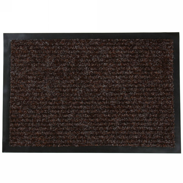 Коврик придверный РибЛайт 40*60 коричневый купить оптом и в розницу