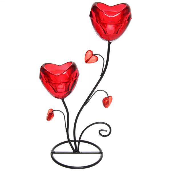 Подсвечник ″Любовь″ на 2 свечи купить оптом и в розницу