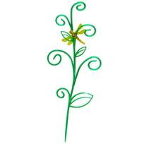 Держатель д/комнатных растений ″стрекоза на ветке″ dr 10-1 зелено-желтый купить оптом и в розницу