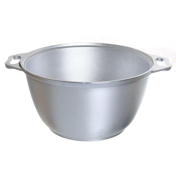 Казан 3 л литой алюминий с крышкой-сковородой КМ-к34 купить оптом и в розницу