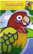 """Набор д/дет.творч.Мозаика """"Попугай""""  самоклеящ. мерцающая купить оптом и в розницу"""