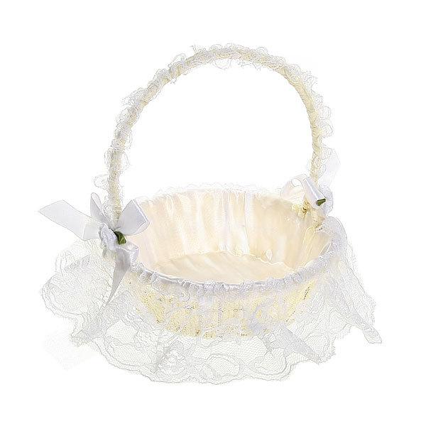 Корзина декоративная плетеная (1шт) с тканью 7*18см 125 - 4 купить оптом и в розницу