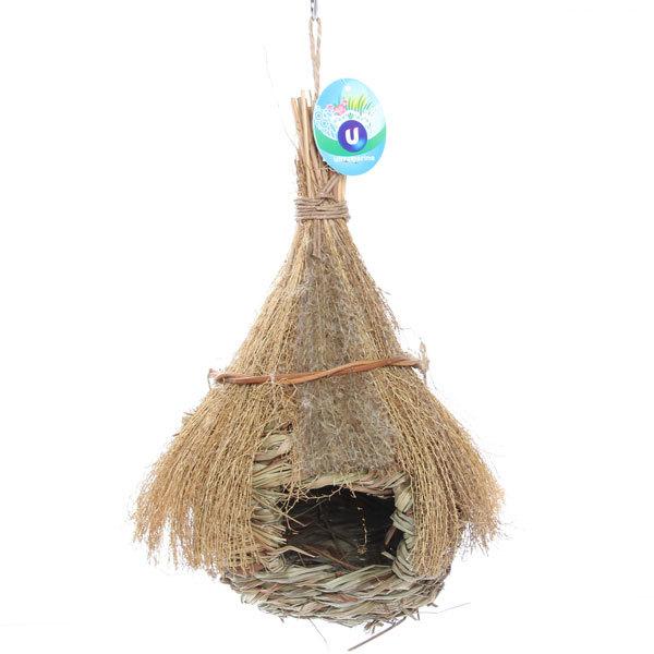 Скворечник подвесной солома, 29*14 см купить оптом и в розницу