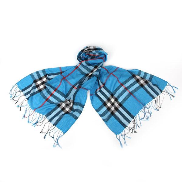 Палантин-шарф унисекс ″Модная клетка″ 170*60 242-7 купить оптом и в розницу