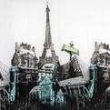 Штора для ванны 180х180 ″Селфи″ EVA Paris купить оптом и в розницу