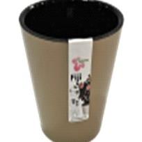 Горшок для цветов Фиджи D 230 мм/5 л шоколадный *15 купить оптом и в розницу