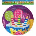 Тарелка бумажная 18 см в наборе 10 шт ″День рождения″ 7 купить оптом и в розницу