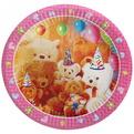 Тарелка бумажная 18 см в наборе 10 шт ″День рождения″ 8 купить оптом и в розницу