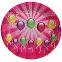 Тарелка бумажная 18 см в наборе 10 шт ″День рождения″ 9 купить оптом и в розницу