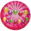 Тарелка бумажная 23 см в наборе 10 шт ″День рождения″ 9 купить оптом и в розницу