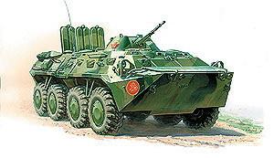 Сб.модель 3558 Советский БТР-80 купить оптом и в розницу