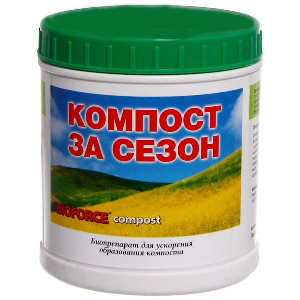 Биопрепарат BIOFORCE Compost 250г купить оптом и в розницу