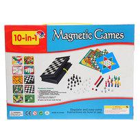 Игра настольная магнитная 10 в 1 5410 купить оптом и в розницу