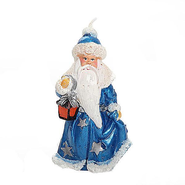 Свеча Новогодняя ″Дед мороз с фонариком″ 11,5 см купить оптом и в розницу