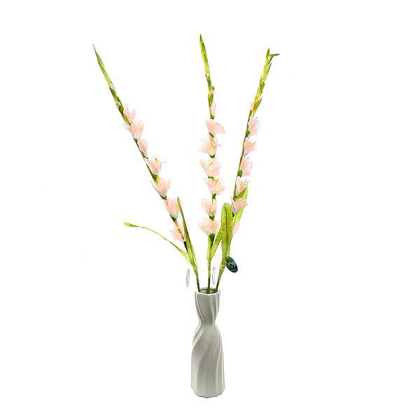Цветок искусственный 100см Гладиолус 7цветков розовый 9178-29 купить оптом и в розницу