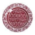 Тарелка бумажная 18 см в наборе 10 шт ″Цветы″ 08 купить оптом и в розницу
