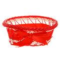 Корзина декоративная плетеная (1шт) 181 - 5 купить оптом и в розницу