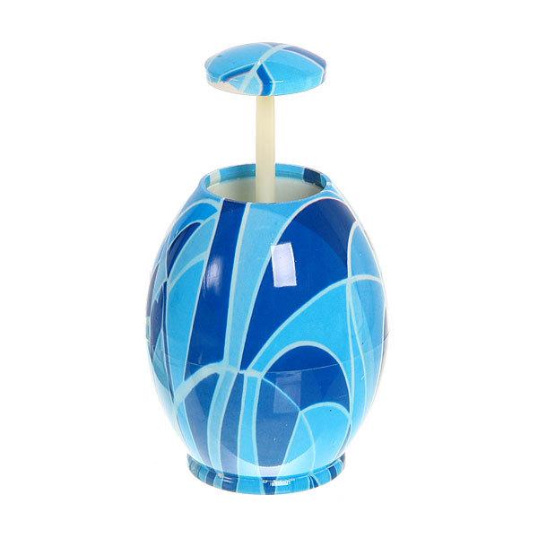 Подставка для зубочисток ″Яйцо″ голубое купить оптом и в розницу